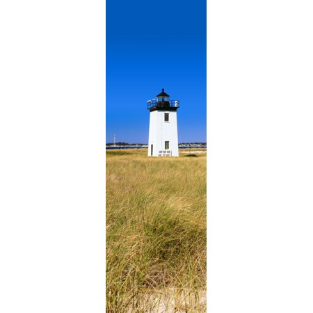 Lighthouse On The Beach Long Point Light Long Point Provincetown Cape Cod Barnstable County Massachusetts Usa Canvas Art   Panoramic Images  6 X 18