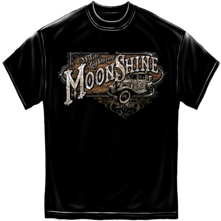 Erazor Bits Cotton Moon Shine Truck T Shirt