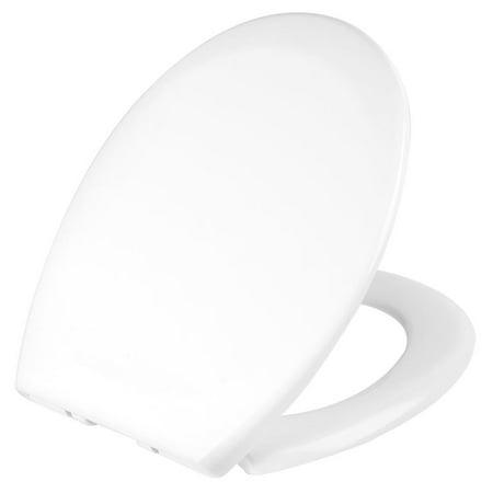 Livingbasics Round Toilet Seat Uf Material White