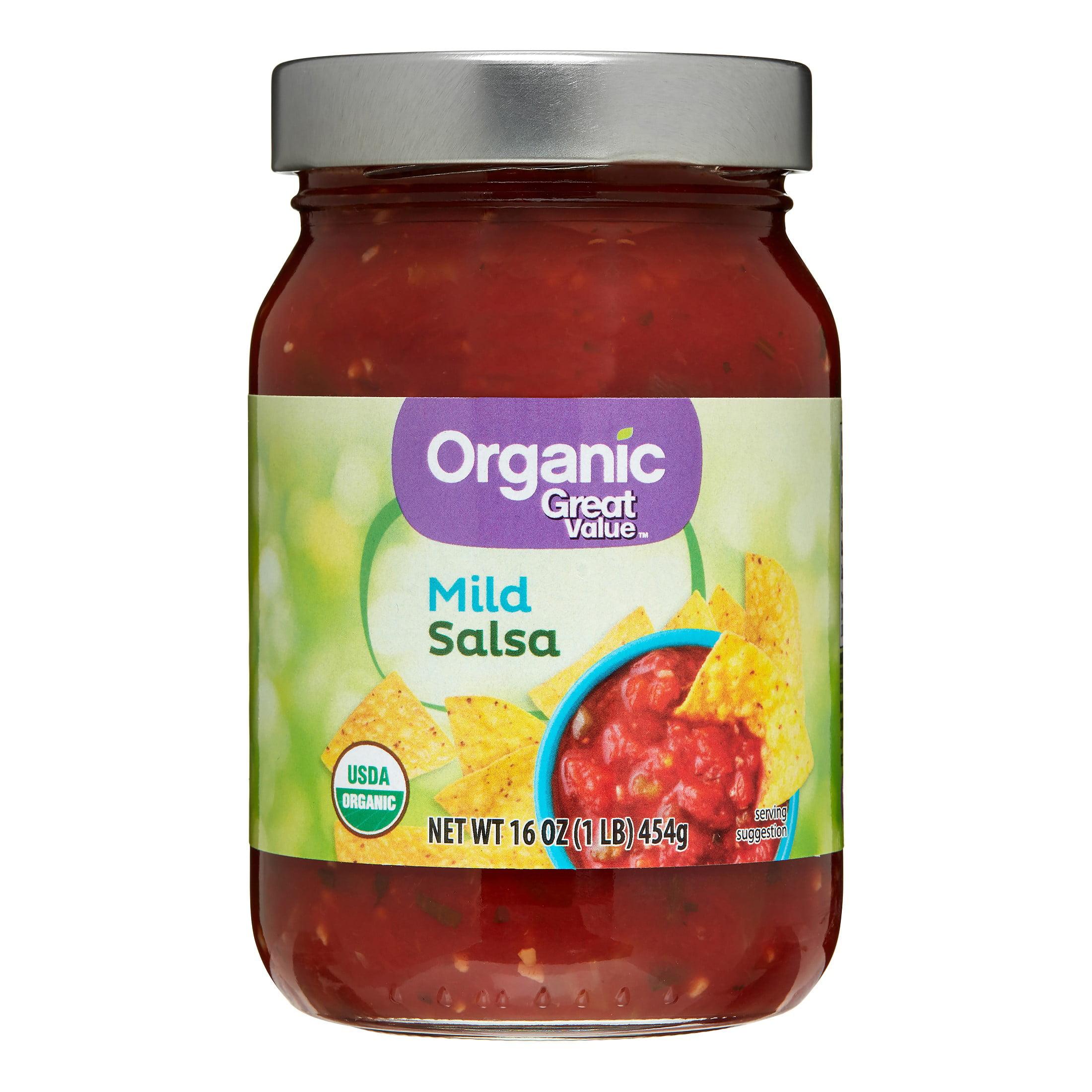 Great Value Organic Mild Salsa, 16 oz