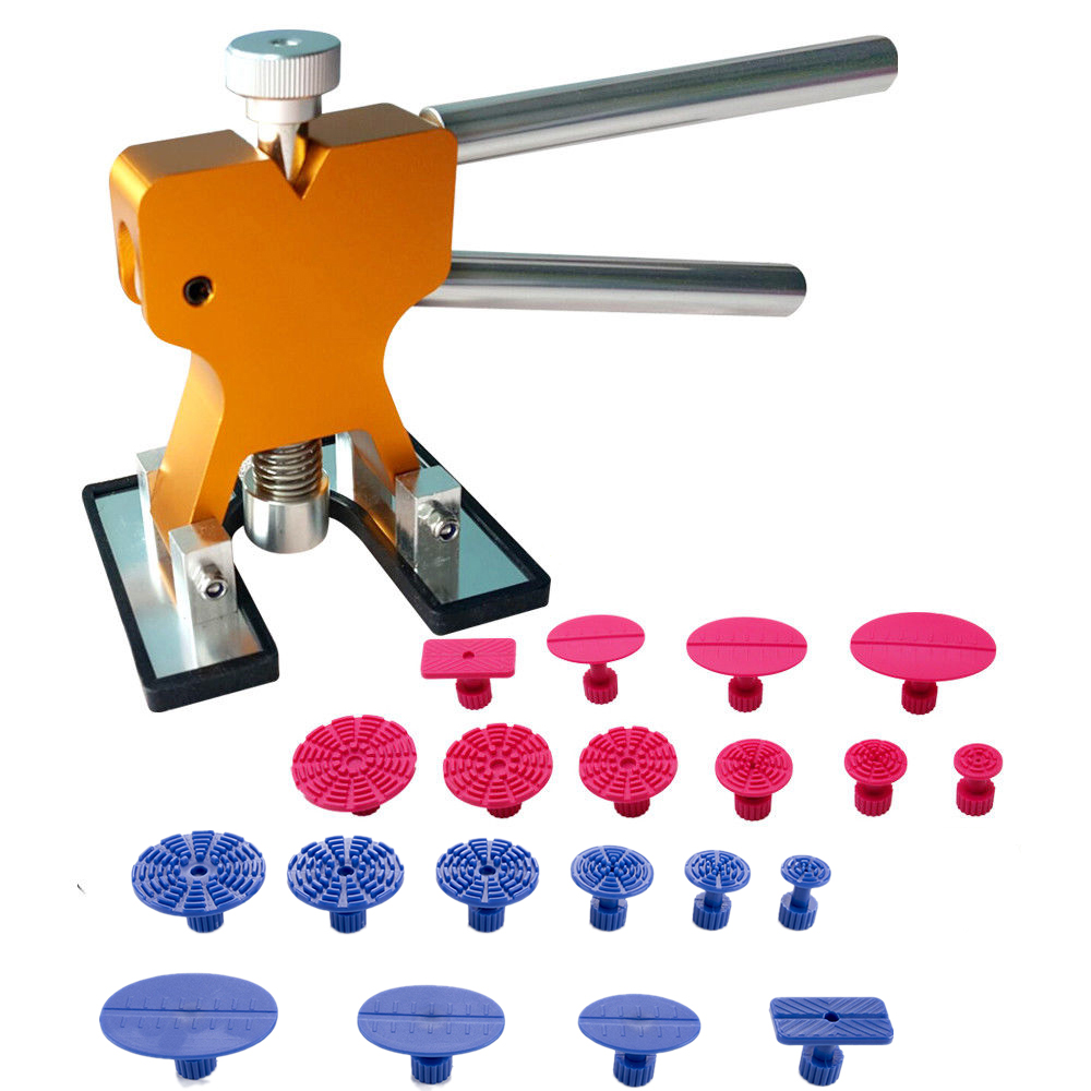 Paintless Auto Car Body Dent Removal Kits Remover Set Glue Puller Lifter Shop Repair