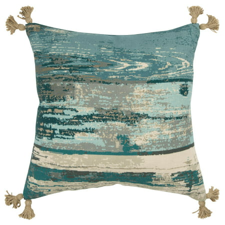 Poly Filled Accent Pillow (Rizzy Home Decorative Poly Filled Throw Pillow Abstract 20