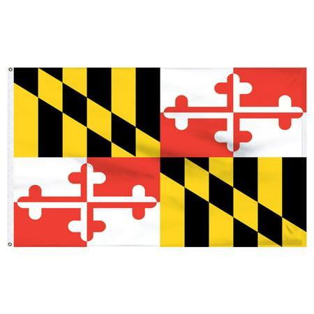 Maryland flag 2ft x 3ft Nylon](Halloween Stores Maryland)