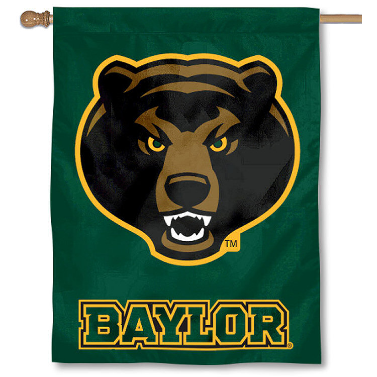 "Baylor BU Bears 30"" x 40"" House Flag and Banner"