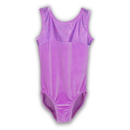 Princess Peach Leotard (Gymnastics Leotard for Girls - Princess/Orchid Velvet - Leap Gear by Pelle - 6 | Child)