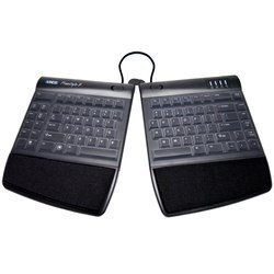 Clear Skin Silicone Keyboard Cover Protector Compatible with Kinesis Freestyle2 Split Keyboard