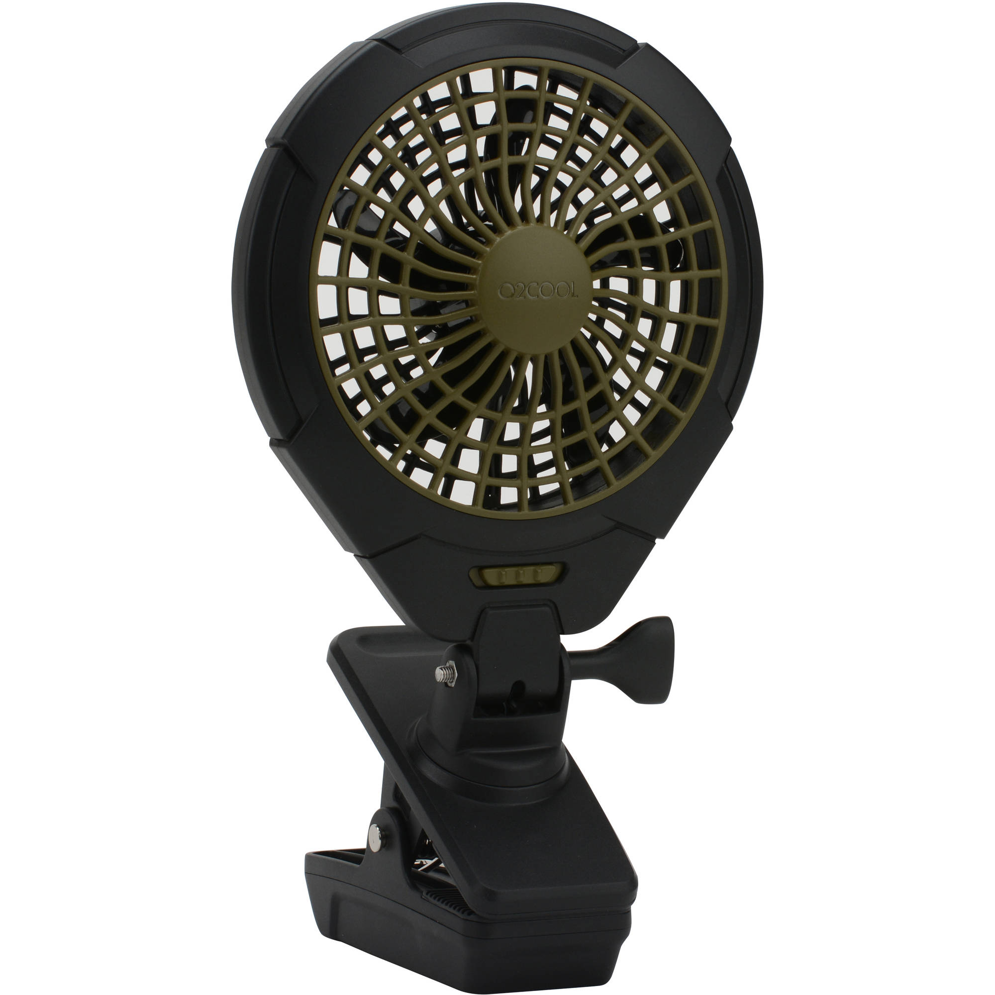 O2cool 5 inch battery operated clip fan walmart com