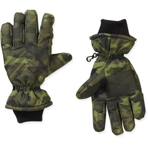 Faded Glory Boy's Camo Print Ski Glove