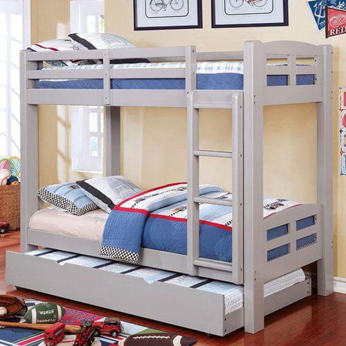 Harriet Bee Crosby Twin Over Twin Bunk Bed