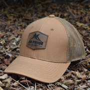 Alaska Leather Patch Hat - DUK Brown