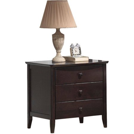 San Marino Nightstand, Dark Walnut