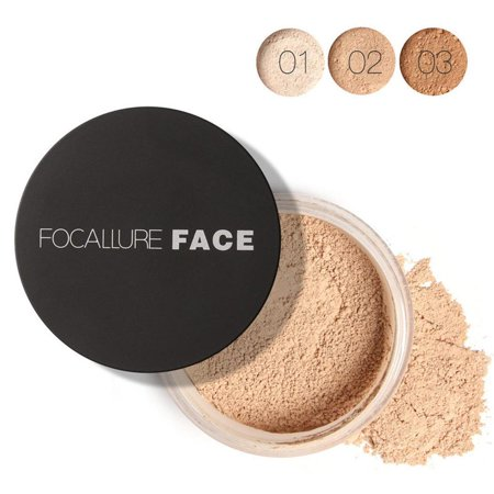 Women Face Cosmetic Beauty Pro Powder Loose Powder Waterproof Skin Finish Powder