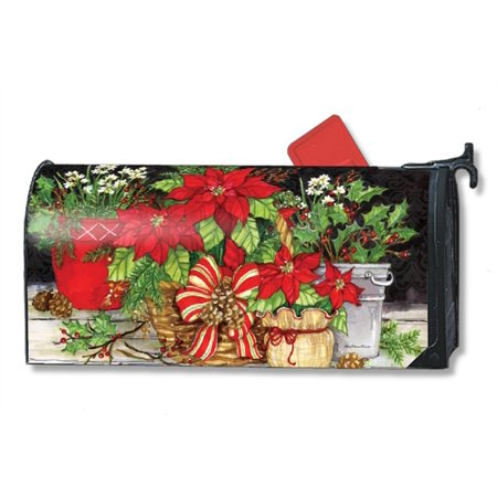 Magnet Works Christmas Beauty Magnetic Mailbox Wrap Cover