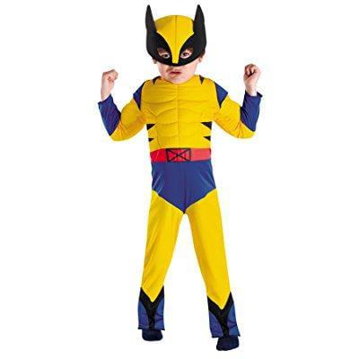 uhc boy's marvel wolverine muscle toddler kids fancy dres...