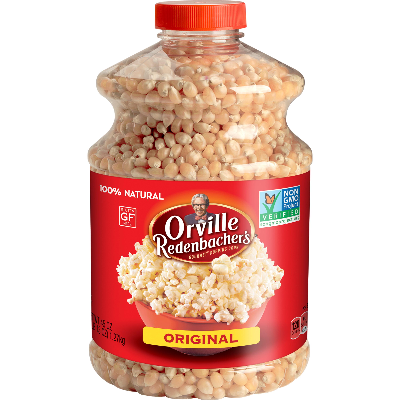 Orville Redenbacher's Original Gourmet Yellow Popcorn Kernels, 45 Ounce