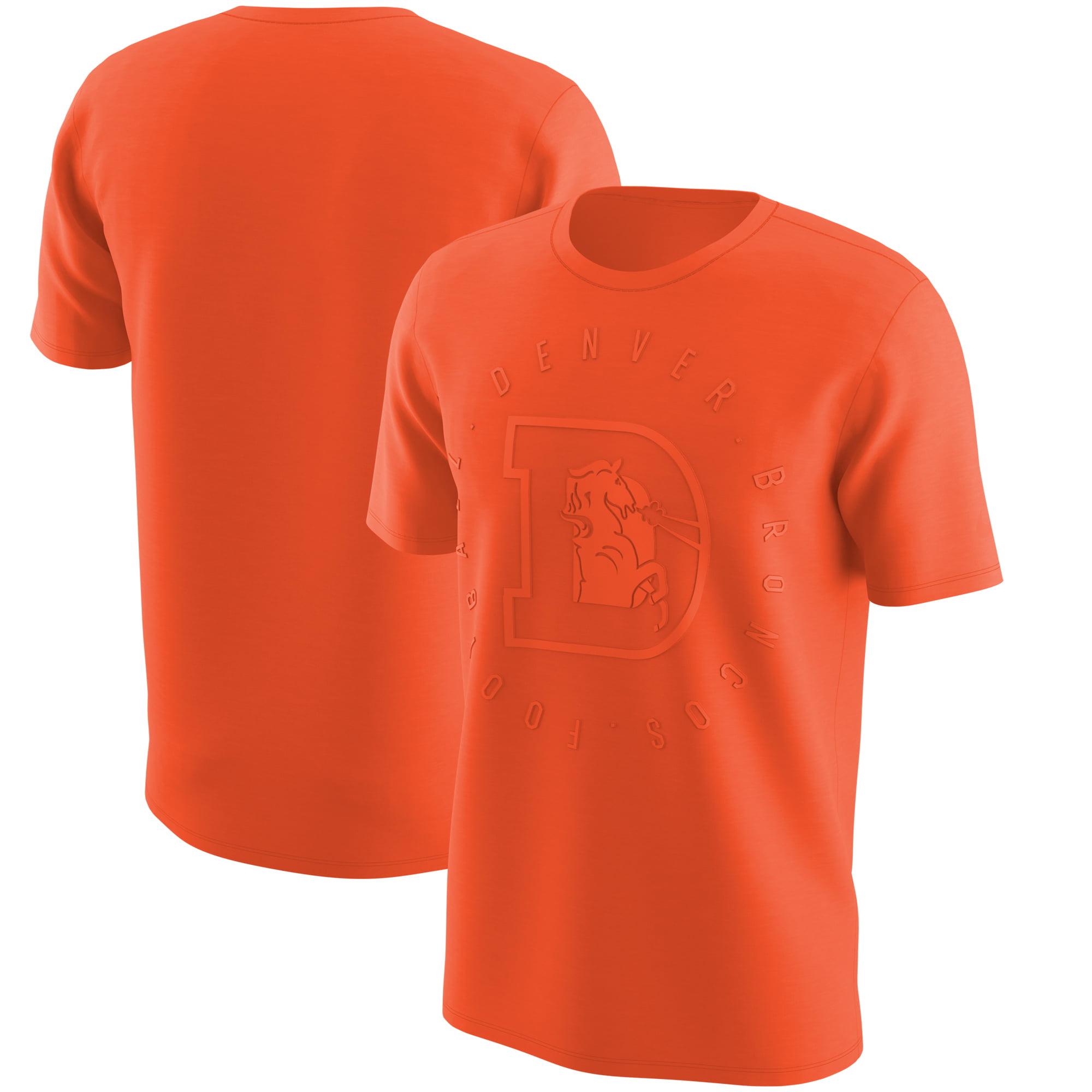 Denver Broncos Nike Color Rush Logo T-Shirt - Orange