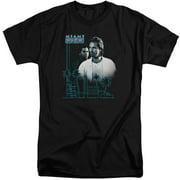 Miami Vice Looking Out Mens Big and Tall Shirt