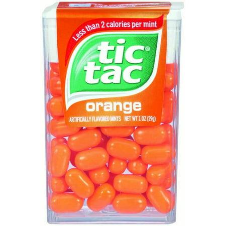 Tic Tac Mints, Orange Singles, 1 oz (Blue Tic Tacs)