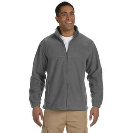 Harriton Men's 8 oz. Full-Zip Fleece ()