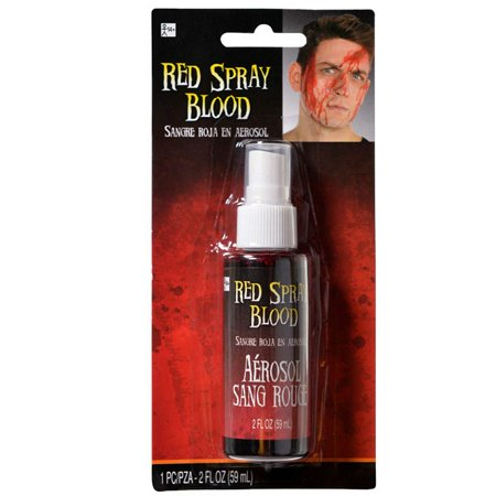 Amscan- Red Spray Blood - Makeup Effects Costume Accessory