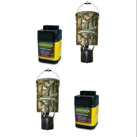 2 MOULTRIE MFH-EP 6.5 Gallon Econo Plus Hanging Deer Feeders
