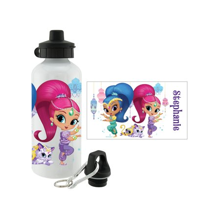 Personalized Shimmer and Shine Zahara Zlam Water Bottle,