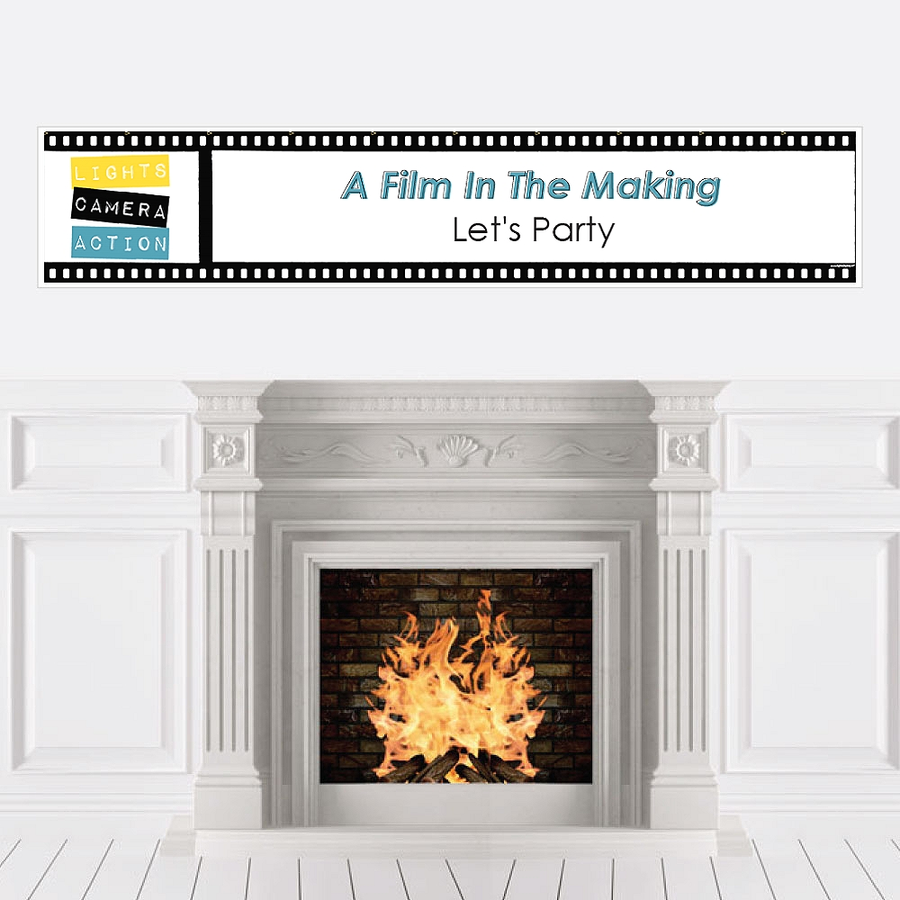 Movie - Hollywood Party Decorations Party Banner