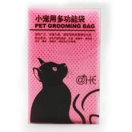 Cat Grooming Bag Mesh Pet No Scratching Biting Restraint Bath Bags For Bathing Nail Trimming Injecting Examing