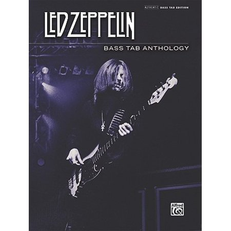 Led Zeppelin -- Bass Tab Anthology : Authentic Bass