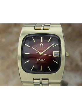 c8c9f622f Free shipping. Product Image Omega 1970s Constellation Chronometer Automatic  Swiss Made Mens Watch AL53