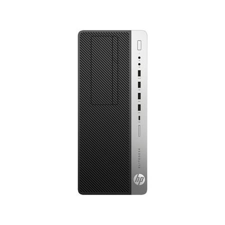 HP EliteDesk 800 G4 Desktop Computer - Intel Core i7 (8th Gen) i7-8700 3.2GHz - 8GB DDR4 SDRAM - 1TB HDD - Windows 10 -