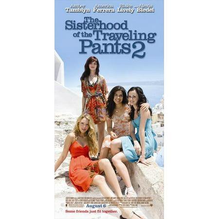 Sisterhood of the Traveling Pants 2 Poster Movie Insert 14 x 36 In - 36cm x 92cm Amber Tamblyn Blake Lively Alexis Bledel America Ferrera Kyle MacLachlan Blythe Danner