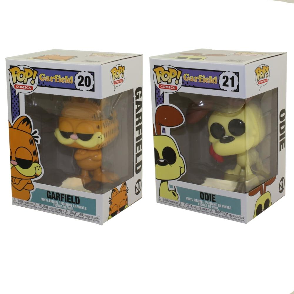 Funko Pop Comics Garfield Vinyl Figures Set Of 2 Garfield Odie Walmart Com Walmart Com