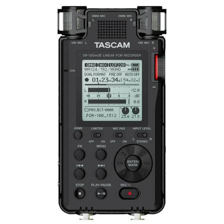 Tascam DR-100mkIII 2-Track Linear PCM Recorder