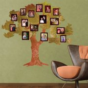 My Wonderful Walls Classic Oak Family Tree Wall Decal