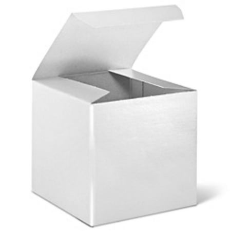 24 white cardboard paper gift favor boxes 2.5