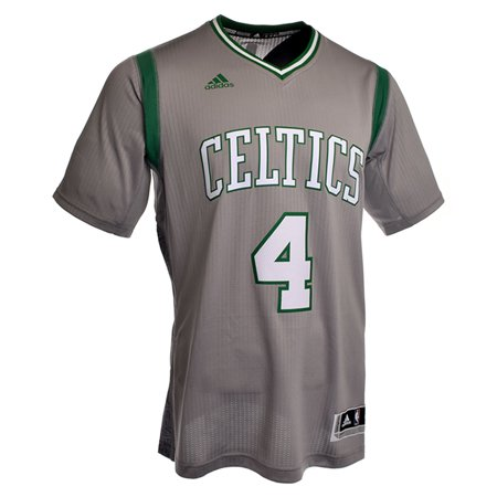 Isaiah Thomas Boston Celtics Adidas Pride Swingman Jersey (Gray) by