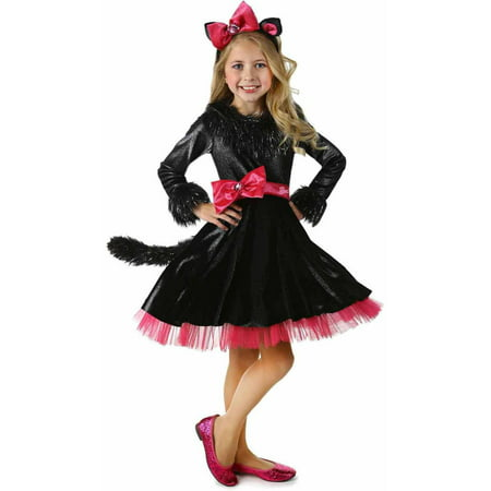 Barbie Halloween Party (Deluxe Barbie Kitty Girls' Child Halloween)