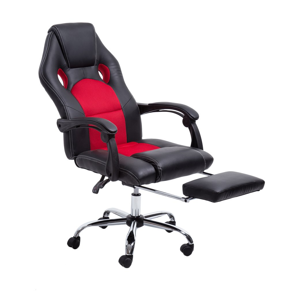Racing Style Leather Gaming Chair High Back Ergonomic Swivel Computer Office Gaming Racing Chair Recliner Chair  sc 1 st  Walmart & Racing Style Leather Gaming Chair High Back Ergonomic Swivel ... islam-shia.org