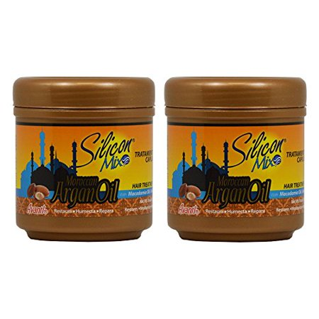 Silicon Mix Moroccan Argan Oil Hair Treatment 16Oz  Pack Of 2