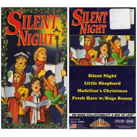 Silent Night Madeline's Christmas Fresh Hare Bugs Bunny VHS Tape - (Kids Klassics)