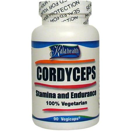 Pure Cordyceps sinensis 740mg (90 Vegetarian Capsules)-. Certified Organic. For Increased Vitality, Endurance and