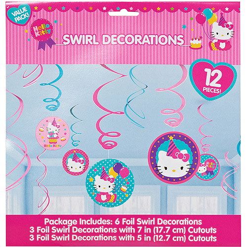 Hello Kitty Hanging Party Decorations, Party Supplies