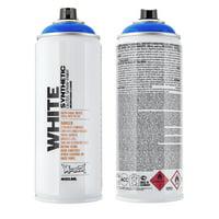Montana WHITE 400 ml Spray Color, Bavaria Blue