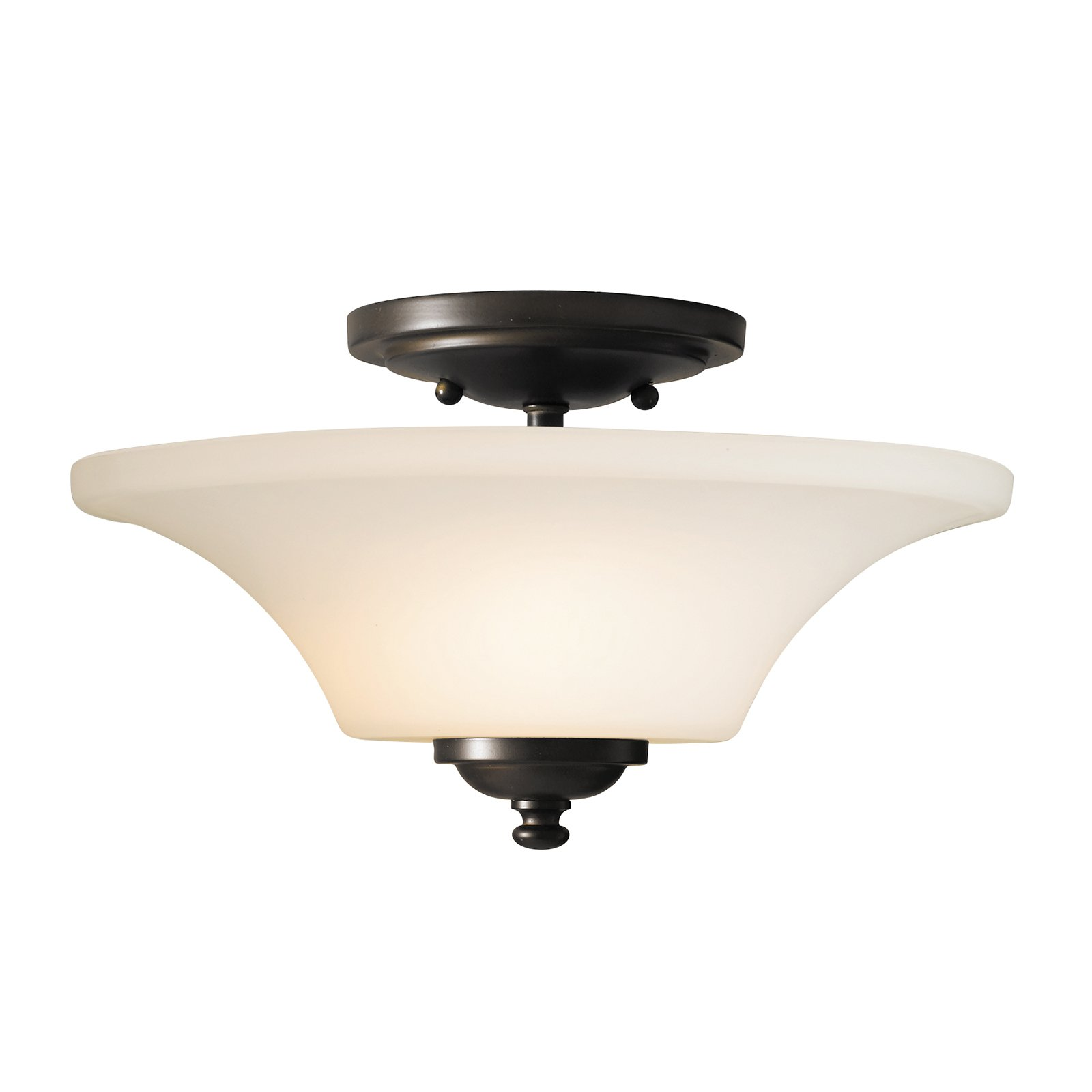 Feiss Barrington Ceiling Light 13W in. Oil Rubbed Bronze by Murray Feiss