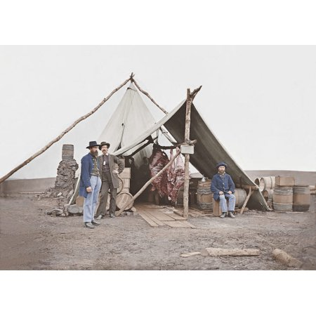 Dressed beef hanging in tent during American Civil War Poster Print by Stocktrek - Civil War Dresses For Sale Cheap