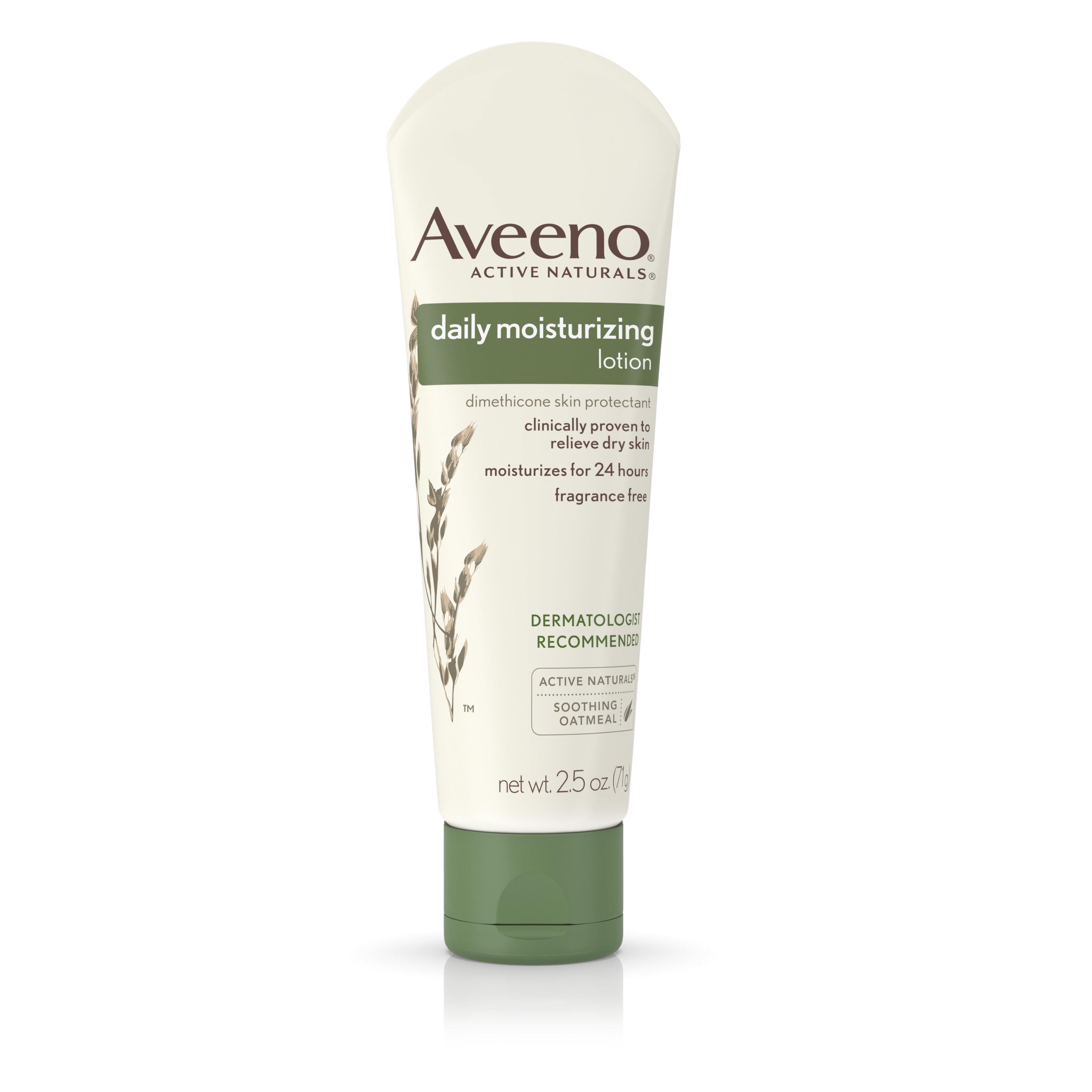 Aveeno Daily Moisturizing Lotion To Relieve Dry Skin, 2.5 Fl. Oz - Walmart.com