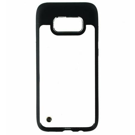 Black Galaxy Granite Countertops - Granite Mono Series Hybrid Slim Case Cover for Samsung Galaxy S8 - Clear / Black (Refurbished)