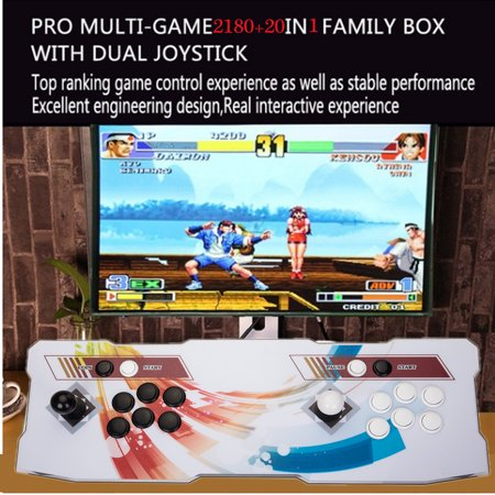 NK 3D Pandora Double Stick Home Arcade Console Joystick Video Game Gifts Support TF Card/PC/Laptop/TV 2200 in 1 Game Console