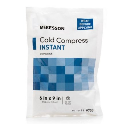 McKesson Instant Cold Pack 16-9703 Case of 24 Cold Self Service Case